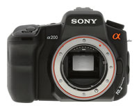 Sony Alpha DSLR-A200 Body